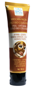 Máscara facial oro bio colágeno